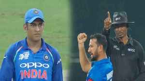 India VS Afghanistan Asia Cup: MS Dhoni takes a veiled dig at poor Umpiring| वनइंडिय&# [Video]