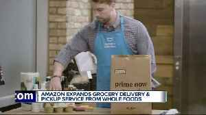 Amazon expands grocery delivery & pickup service with Whole Foods to Detroit, Ann Arbor [Video]