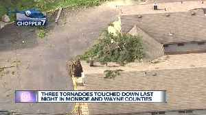 National Weather Service confirms 3 tornadoes touched down in metro Detroit [Video]
