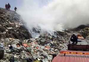 Bali Landfill Fire Burns for Days, Emitting Pungent Gas [Video]