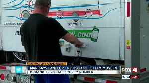 Man and family stranded after landlord won't them move in [Video]