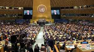 Trump Attends 73rd United Nations General Assembly [Video]
