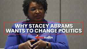 Stacey Abrams is charming Georgia voters with her fierce ambition: