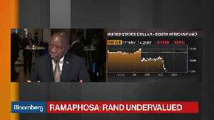 South Africa's Ramaphosa Sees Rand as Undervalued [Video]