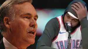 Carmelo Anthony Not A Starter: Is It Because of Beef With Mike D'Antoni? [Video]