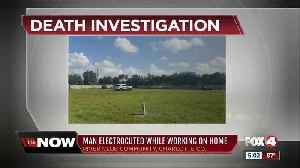 Man electrocuted while working on home [Video]