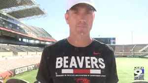 WEB EXTRA: Brian Lindgren on OSU Offense post Arizona [Video]