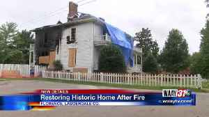 Fire of Historic Home in the Shoals Could Be Restored [Video]