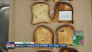 Consumer Reports: Which toaster pops to the top [Video]