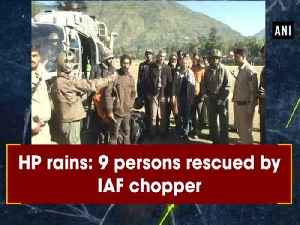 HP rains: 9 persons rescued by IAF chopper [Video]