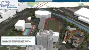 Virtual Singapore could be test bed for planners, and plotters [Video]