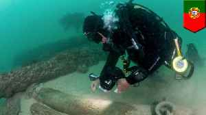 400-year-old shipwreck discovered off Portugal's coast [Video]