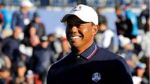 US Golf Team Pranks Tiger Woods By Giving Him 'Cold Shoulder' [Video]