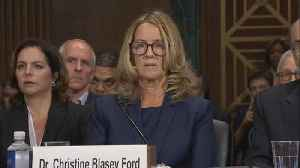 Christine Blasey Ford's opening statement at Kavanaugh hearing [Video]