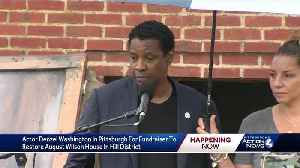 Denzel Washington visits August Wilson House in Pittsburgh [Video]