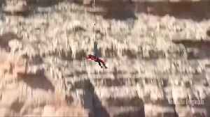Will Smith celebrates 50th birthday with Grand Canyon bungee jump [Video]