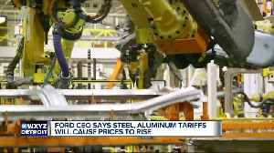 Ford CEO says steel, aluminum tariffs will cause prices to rise [Video]