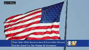 Texas Supports School That Expelled Student Over Pledge Of Allegiance [Video]