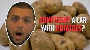 Jumpstarting a Mercedes-Benz AMG with potatoes? [Video]
