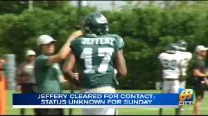 Alshon Jeffrey cleared for contact [Video]