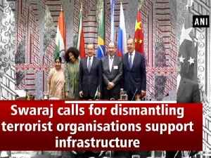 Swaraj calls for dismantling terrorist  organisations support infrastructure [Video]