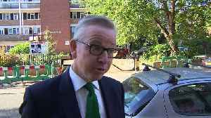 Gove calls for party unity and backs Theresa May [Video]