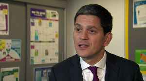David Miliband: 'No deal Brexit' an 'economic apocalypse' [Video]