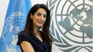 Amal Clooney Calls For Reuters Reporters To Be Released In Myanmar [Video]