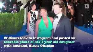 Serena Williams' Daughter Is Taking After Her Mom [Video]