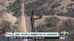 More than 260 immigrants arrested at Arizona border in 24 hours [Video]