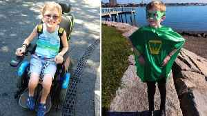 Teen Who Can't Eat Solid Foods Creates Superhero Alter Ego to Stay Positive [Video]