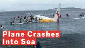 Boeing Aircraft With 47 People Aboard Crashes Into Sea On Landing [Video]
