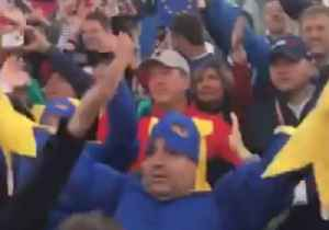 Fans Celebrate First Ryder Cup Tee With an Un-Fore-Getable Thunder Clap [Video]