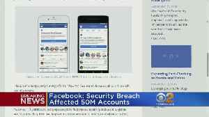 Facebook: Hackers Accessed 50 Million Accounts, Issue Now Fixed [Video]