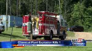 Chemical Plant Explosion Kills 1 [Video]