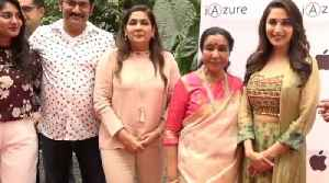 Bollywood Legends Madhuri Dixit and Asha Bhosle grace the redcarpet of At An iphone Store launch [Video]