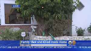 Father, Teen Stepdaughter Shot, Killed In Compton; Mother Wounded [Video]