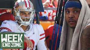 Who Should Replace Jimmy Garoppolo? Will Carmelo Anthony Actually Come Off The Bench? | WEZ [Video]