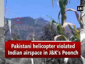 Pakistani helicopter violated Indian airspace in J&K's Poonch [Video]
