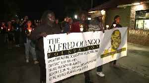 Dozens March on Anniversary of Unarmed Man Shot to Death by Police in Southern California [Video]