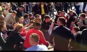 Arsenal Fans Singing About John Terry - Chelsea v Arsenal [Video]
