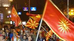 Macedonia leader vows to press on with name change despite referendum failure [Video]