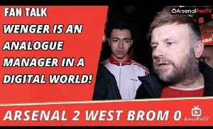Arsenal 2 West Brom 0 | Arsene Wenger Is An Analogue Manager In A Digital World! [Video]