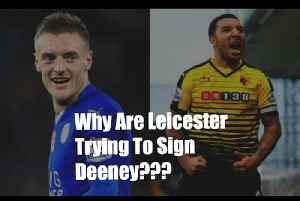 [Arsenal: AFTV TD]  If Vardy's Staying Why Are Leicester Trying To Sign Deeney? [Video]
