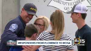 Phoenix search and rescue team returns home after helping Hurricane Florence victims [Video]