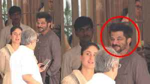 Kareena Kapoor Khan & Anil Kapoor spotted LAUGHING at Kapoor's house; Watch Video | FilmiBeat [Video]