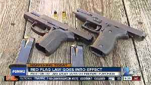 Red Flag Law, other new laws go into effect Oct. 1 [Video]