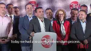 Macedonia Name Change Approved in Referendum With Low Voter Turnout [Video]