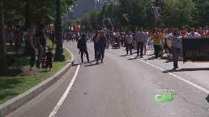 Thousands Gathered Along The Benjamin Franklin Parkway For Annual Puerto Rican Day Parade [Video]