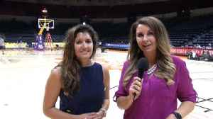 Discussing LeBron James' first preseason game as a Laker [Video]